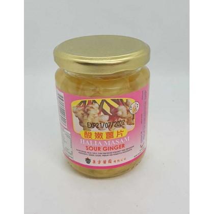 CV Tong Foong Sour Ginger (130g)- S 东方酱园酸嫩姜片 (130g)