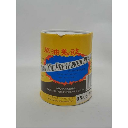 Yuan You Preserved Beans With Ginger (400g) 原油姜豉