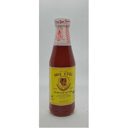 Tupai Sos Cili (S) (340g) 松鼠牌辣椒酱