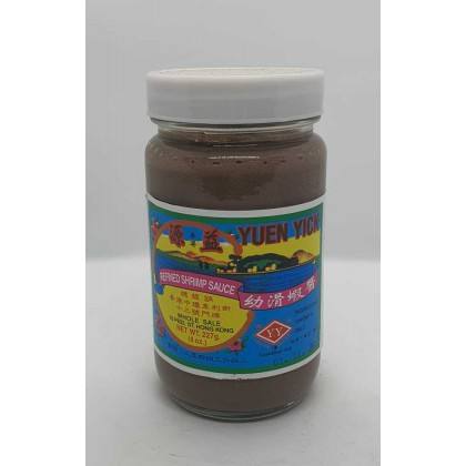 Yuen Yick Preserved Shrimp Paste 源益幼滑虾酱
