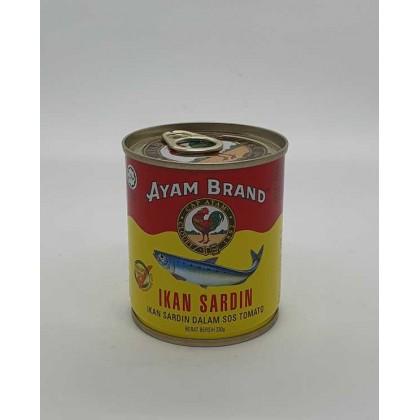 Ayam Brand Sardines in Tomato (S) (230g) 雄鸡標沙丁鱼 (小)