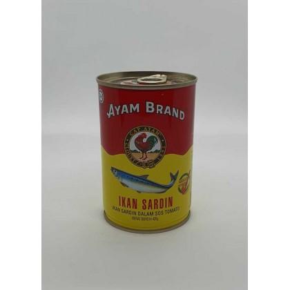 Ayam Brand Sardines in Tomato (L) (425g) 雄鸡標沙丁鱼 (大)