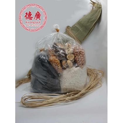 Hokkien Style Glutinous Rice Dumplings Pre-Packed Ingredients 廣德肉粽材料配套