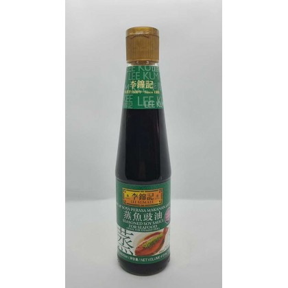 LeeKumKee Seasoned Soy Sauce Seafood-fish 410ml 李锦记蒸鱼豉油