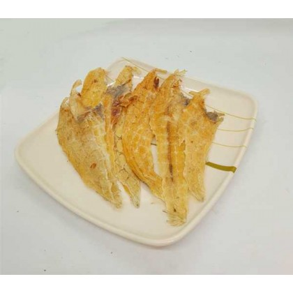 Dried Sole Meat 偏鱼肉 Flounder meat Flat fish meat 地鱼肉  (50g/100g/500g/1kg)