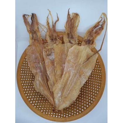 Dried Sotong -L 大干鱿鱼 去皮吊片 Skinless (/kg)