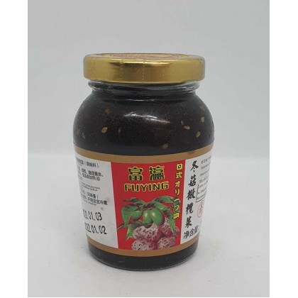 FuYing Japanese Style Olive Mushroom 180g 富瀛日式冬菇橄榄菜